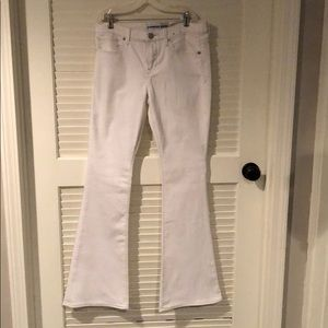 New w/o tags- white express jeans-size 8